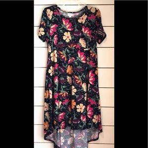 LuLaRoe Carly floral dress